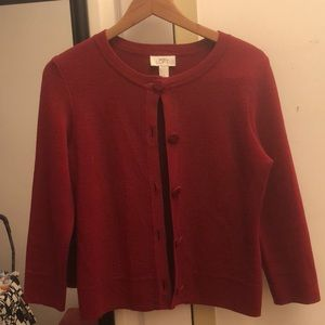 Ann Taylor LOFT red sweater
